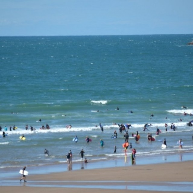 Surf report photo of Croyde Beach