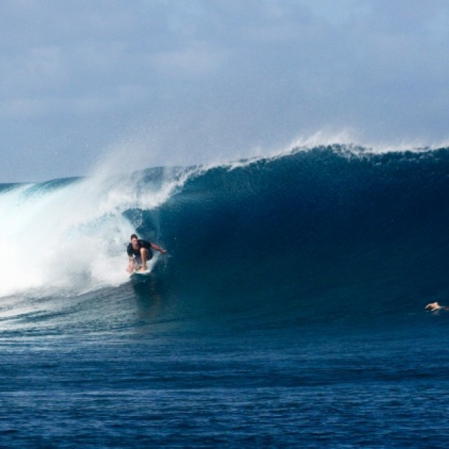 Surf report photo of Tavarua - Cloudbreak