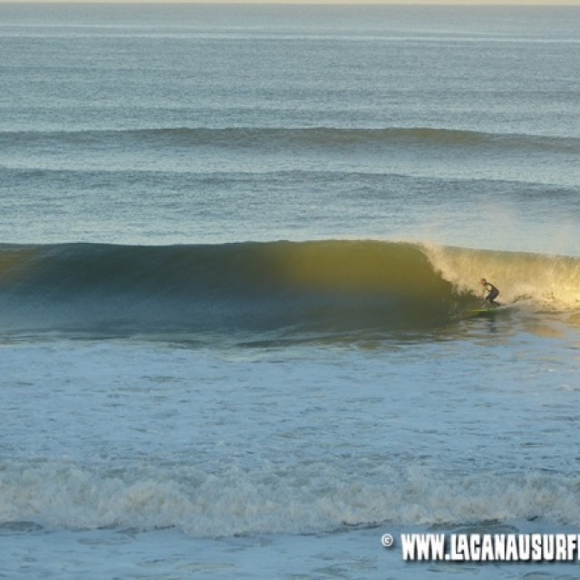 Surf report photo of Lacanau
