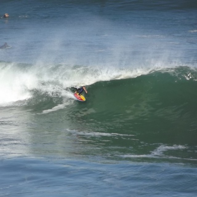 Surf report photo of Messanges