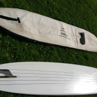 10ft Single Fin Tombstone Longboard